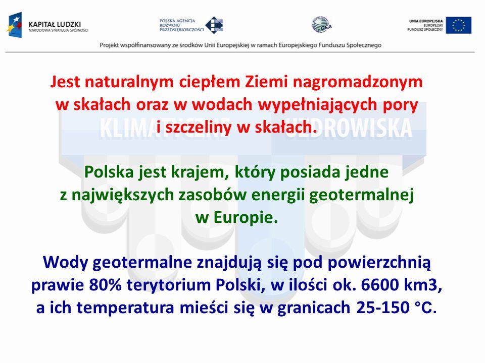 Jest naturalnym ciepłem Ziemi nagromadzonym w skałach oraz w wodach wypełniających pory i szczeliny w skałach. Polska jest krajem, który posiada jedne