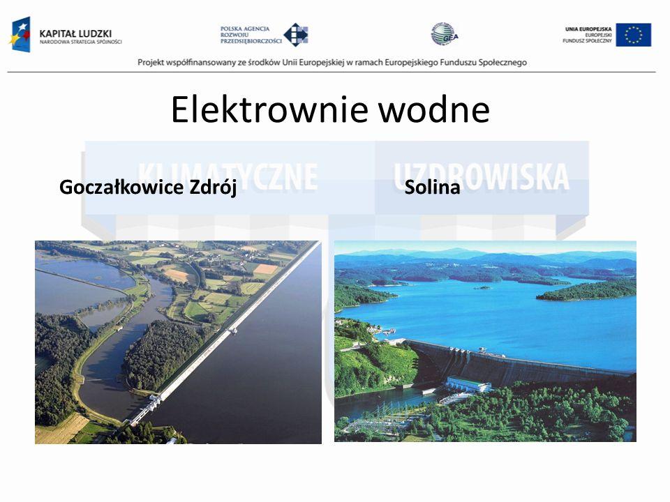 Elektrownie wodne Goczałkowice ZdrójSolina