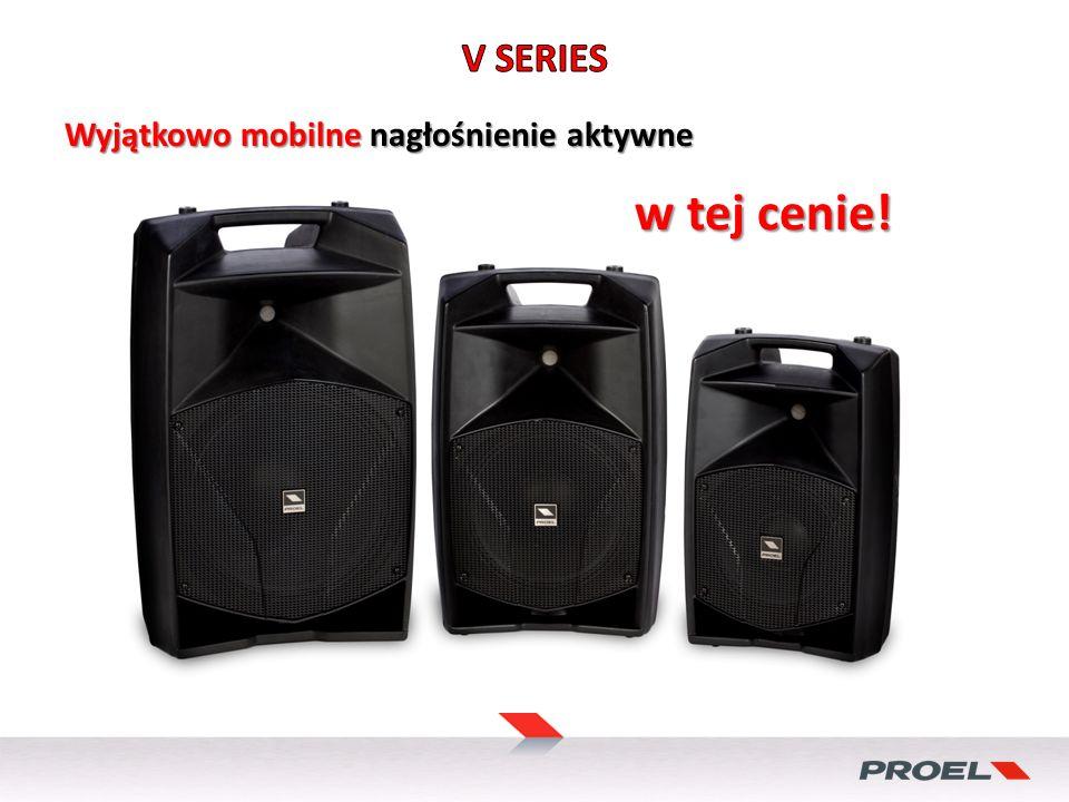 Wyjątkowo mobilne nagłośnienie aktywne w tej cenie!