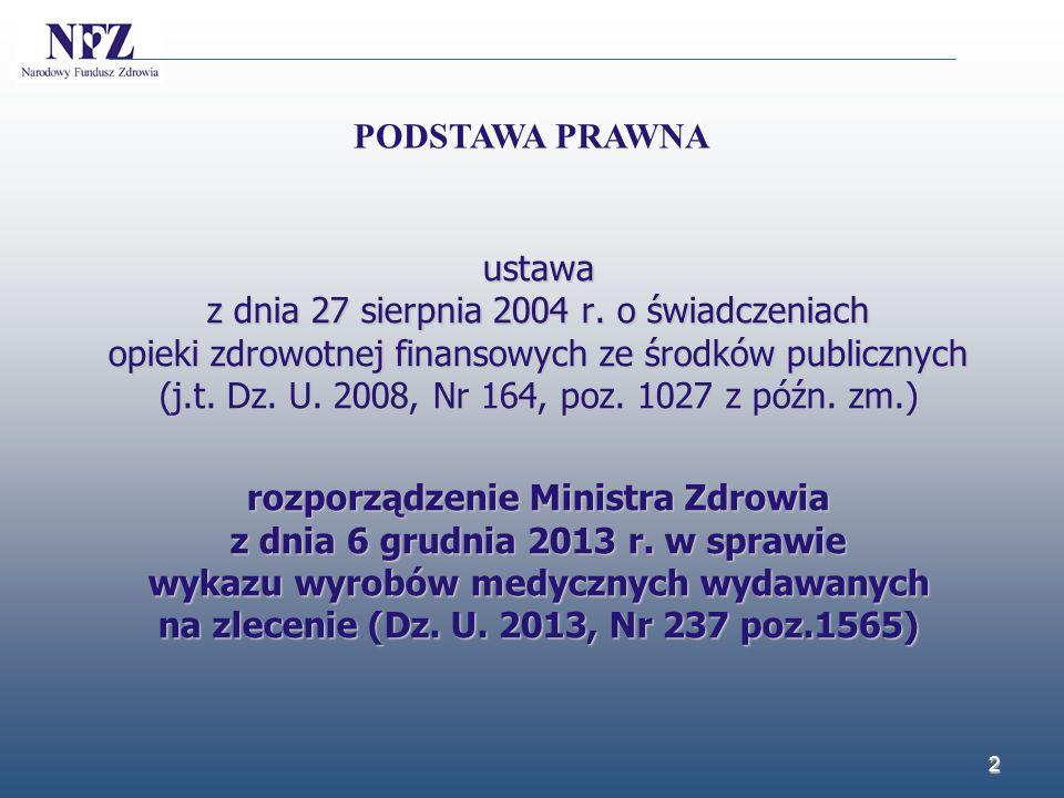 Zarządzenie nr 90/2013/DSOZ Prezesa NFZ z dnia 24 grudnia 2013 r.