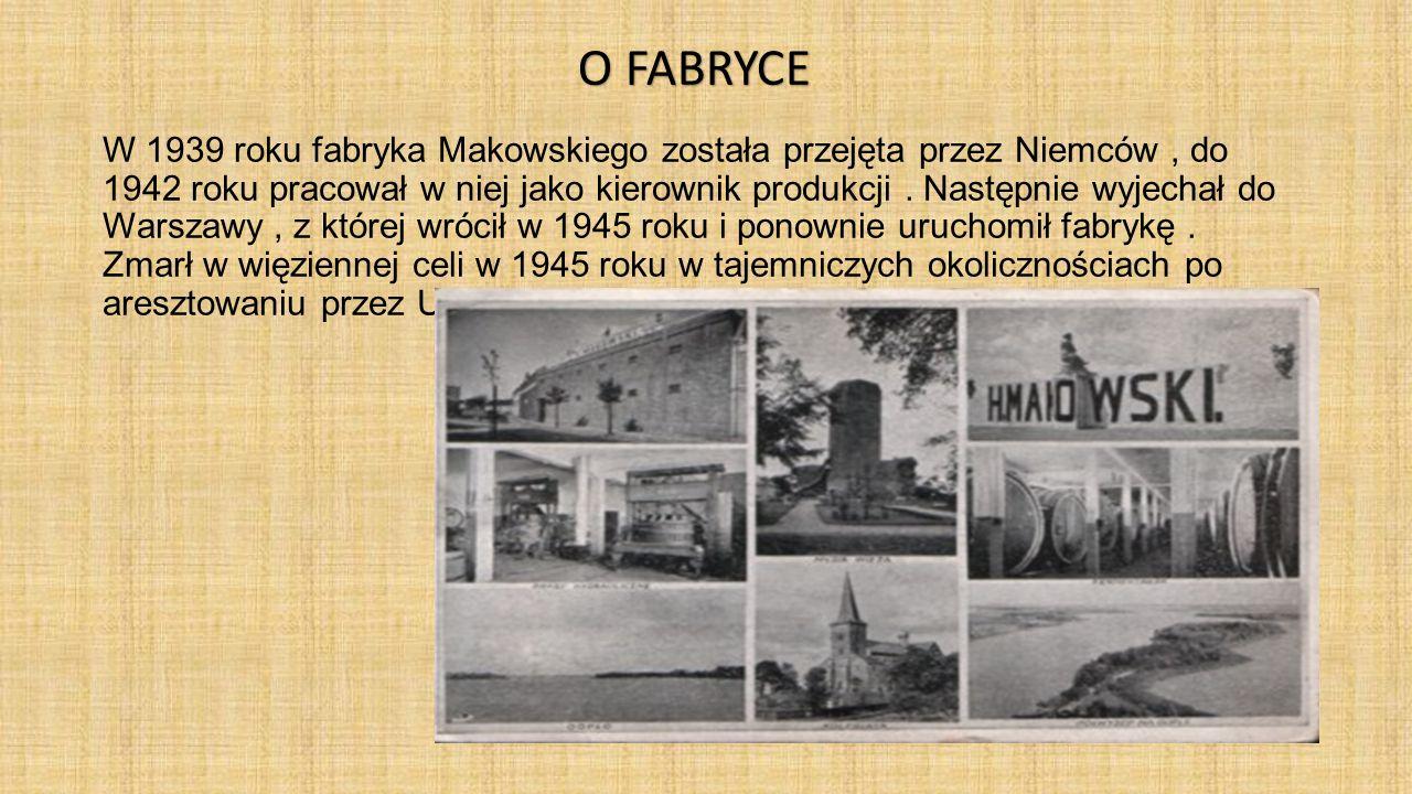 W 1939 roku fabryka Makowskiego została przejęta przez Niemców, do 1942 roku pracował w niej jako kierownik produkcji. Następnie wyjechał do Warszawy,