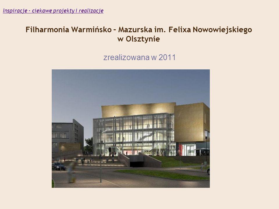 Filharmonia Warmińsko – Mazurska im.