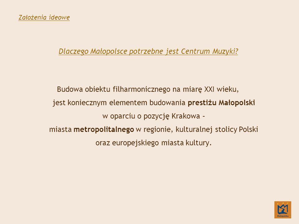 Dlaczego Małopolsce potrzebne jest Centrum Muzyki.