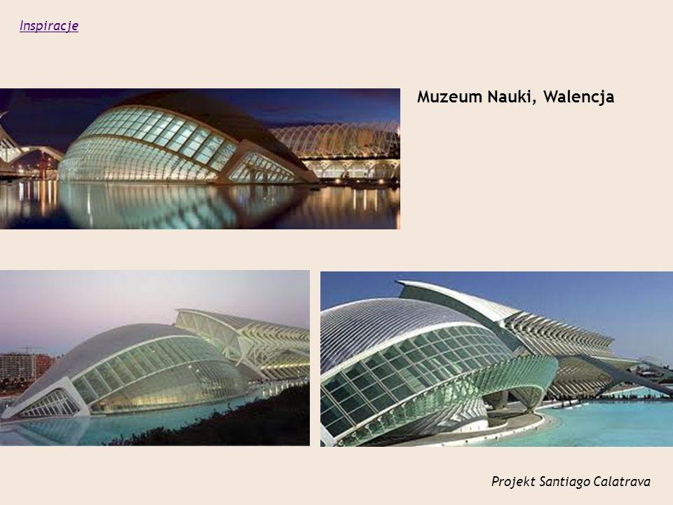 Projekt Santiago Calatrava Muzeum Nauki, Walencja Inspiracje