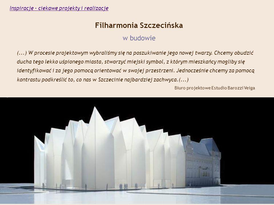 Filharmonia Szczecińska w budowie (...) W procesie projektowym wybraliśmy się na poszukiwanie jego nowej twarzy.