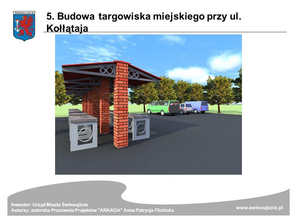 Inwestor: Urząd Miasta Świnoujście Autorzy: autorska Pracownia Projektów