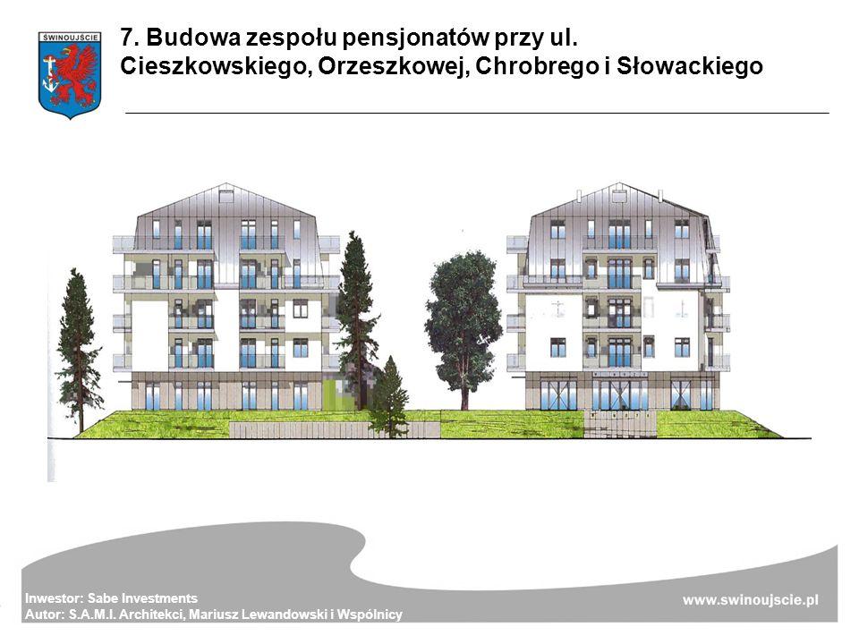 Inwestor: Sabe Investments Autor: S.A.M.I. Architekci, Mariusz Lewandowski i Wspólnicy