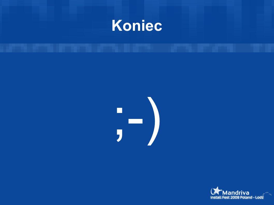 Koniec ;-)