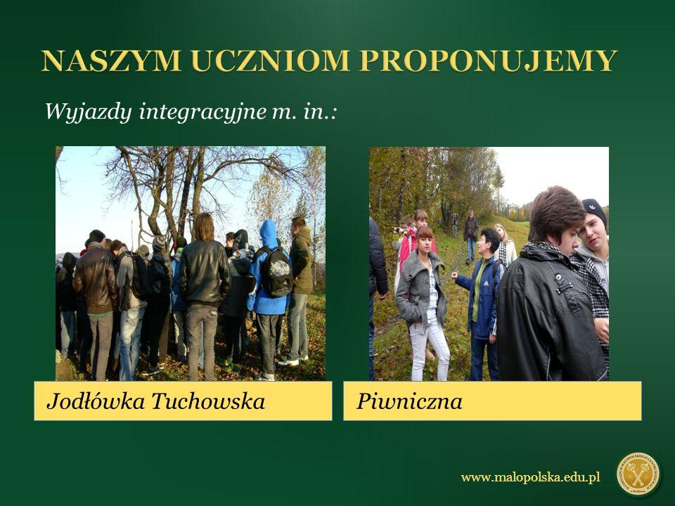 Jodłówka TuchowskaPiwniczna Wyjazdy integracyjne m. in.: www.malopolska.edu.pl