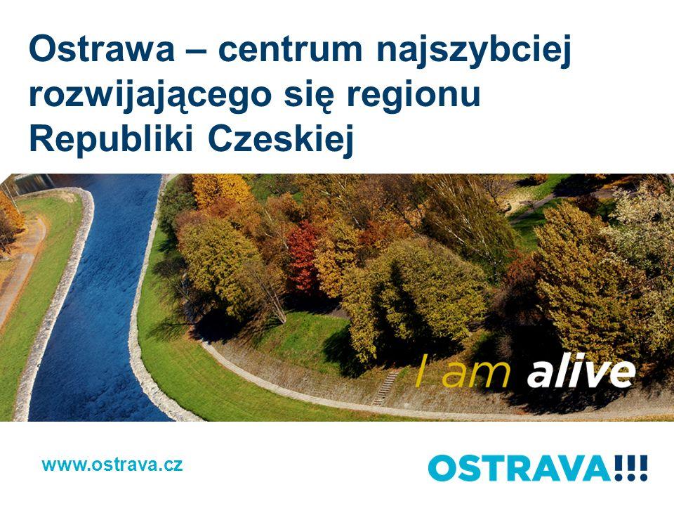 Podsumowanie www.ostrava.cz Trzecie największe miasto w RC Ważny biegun rozwojowy Ponad 1,2 mln mieszkańców w regionie Strategiczne położenia na pograniczu 3 państw Inwestycje w oświatę – 4 uniwersytety 1st International School of Ostrava Rozwinięta infrastruktura Wysoce rozwinięty system komunikacji miejskiej Wysoki rating kredytowy: ~ STANDARD & POORS: A+ ~ MOODY´S: A2 Ważne spółki prowadzące działalność w Ostrawie i okolicy Wiele zaplanowanych i już realizowanych projektów strategicznych Bogate możliwości działań wolnoczasowych