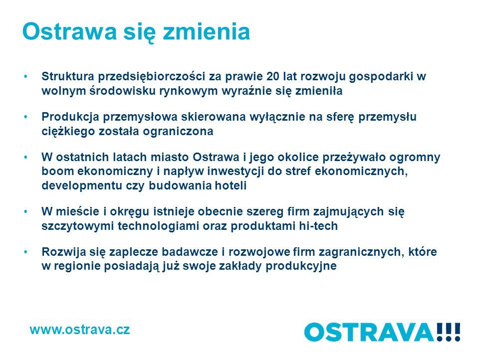 Bezrobocie 2005 – 2013 (%) www.ostrava.cz