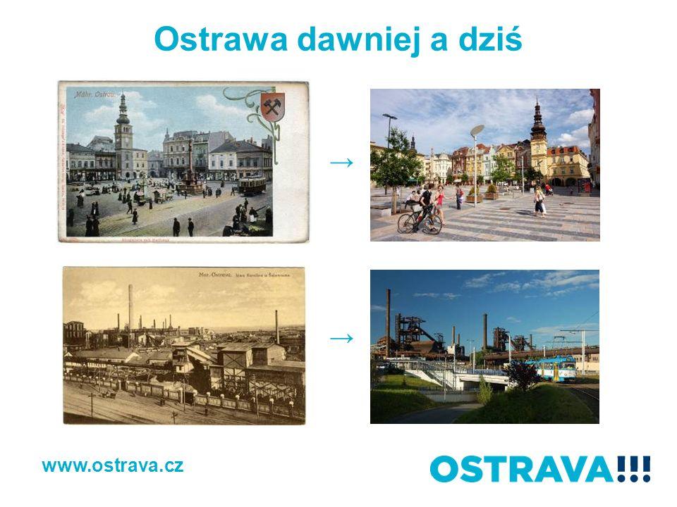 Ostrawa dawniej a dziś www.ostrava.cz
