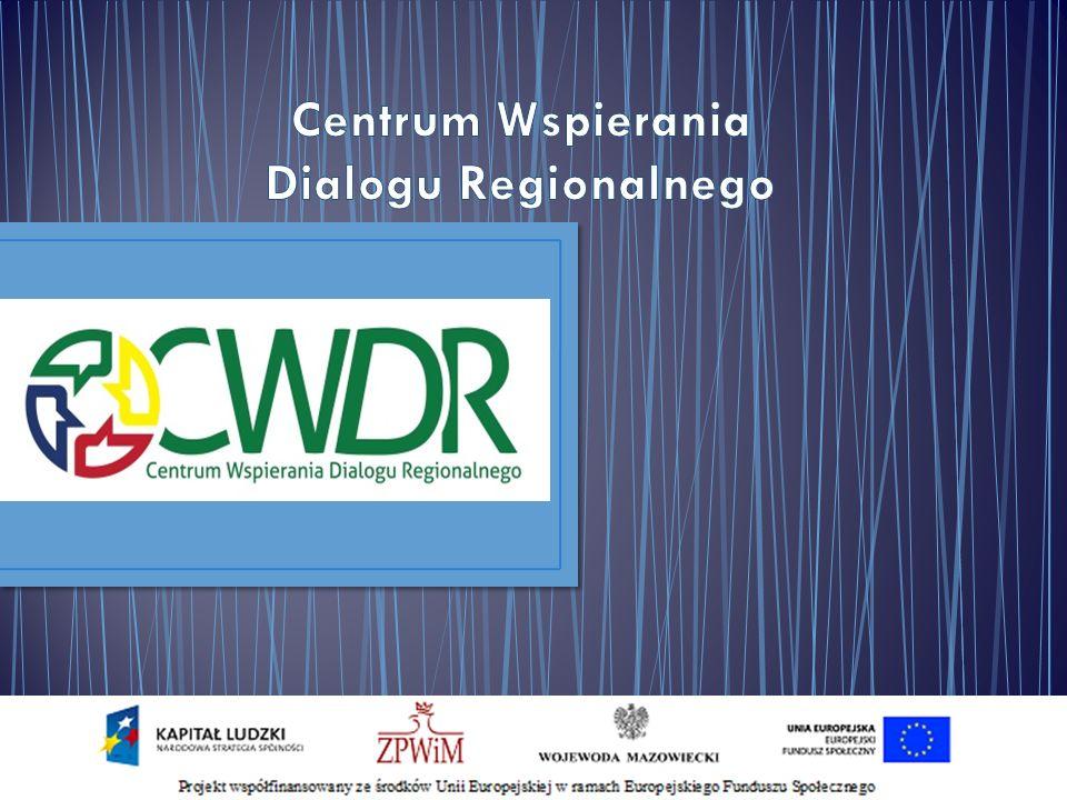 2 Projekt CWDR 2013 - 2015 Rekomendacje dla WKDS Projekt 2011 – 2012 Geneza projektu