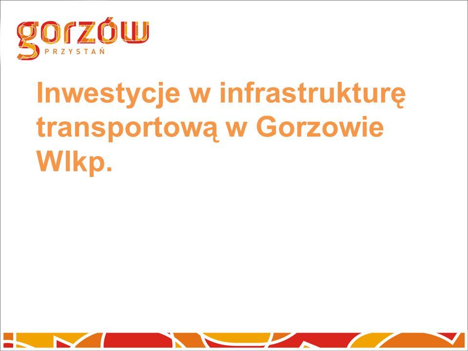 Inwestycje w infrastrukturę transportową w Gorzowie Wlkp.