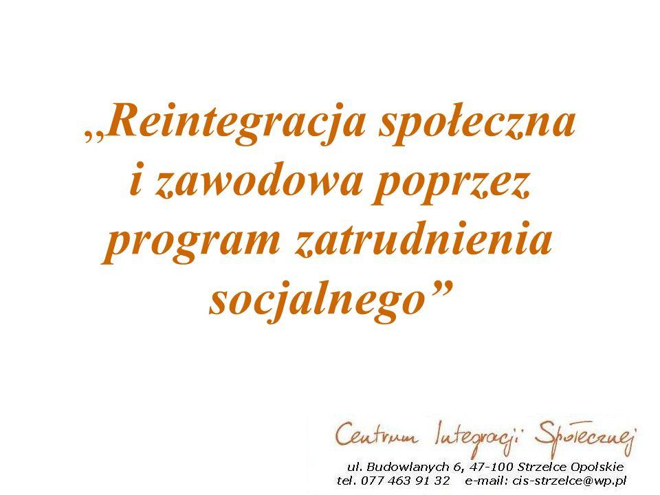 Reintegracja społeczna i zawodowa poprzez program zatrudnienia socjalnego