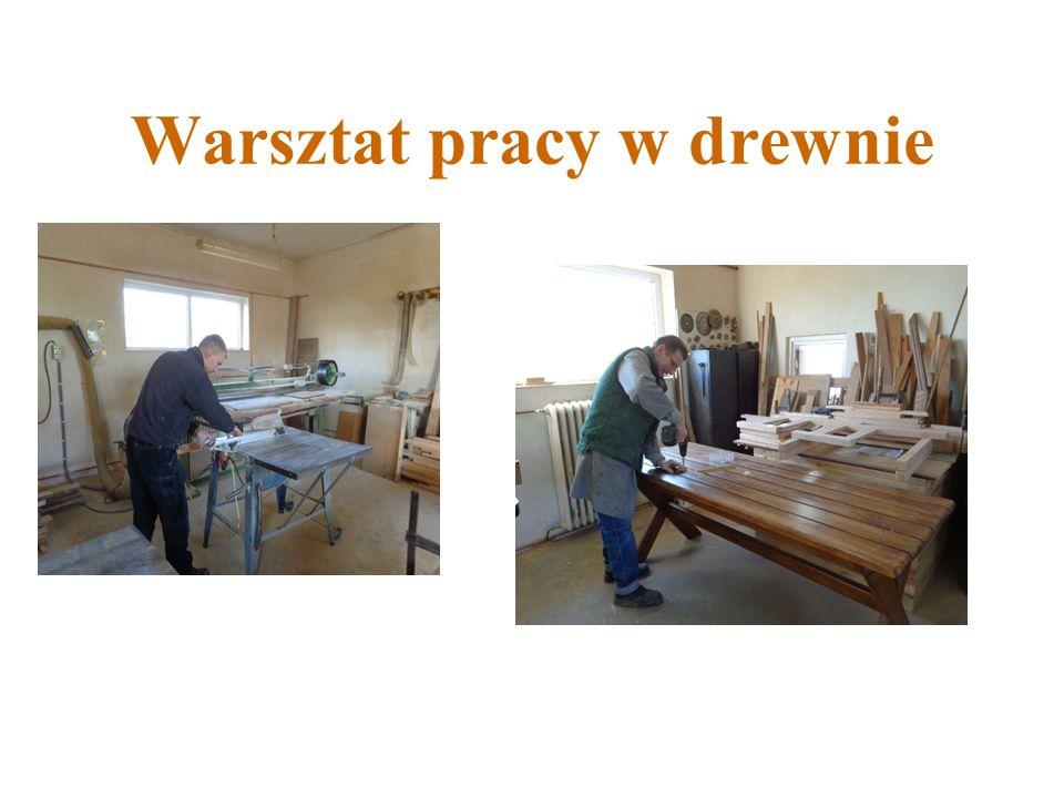 Warsztat pracy w drewnie