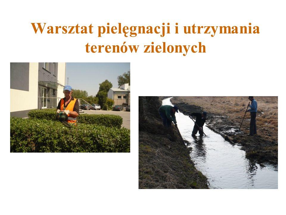 Warsztat pielęgnacji i utrzymania terenów zielonych