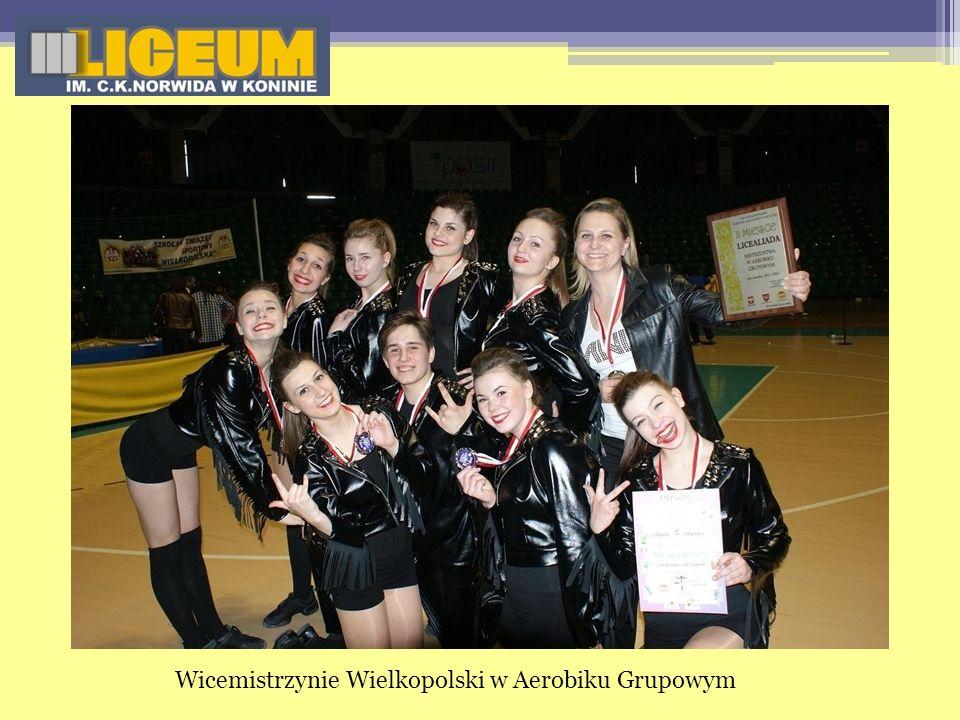 Wicemistrzynie Wielkopolski w Aerobiku Grupowym
