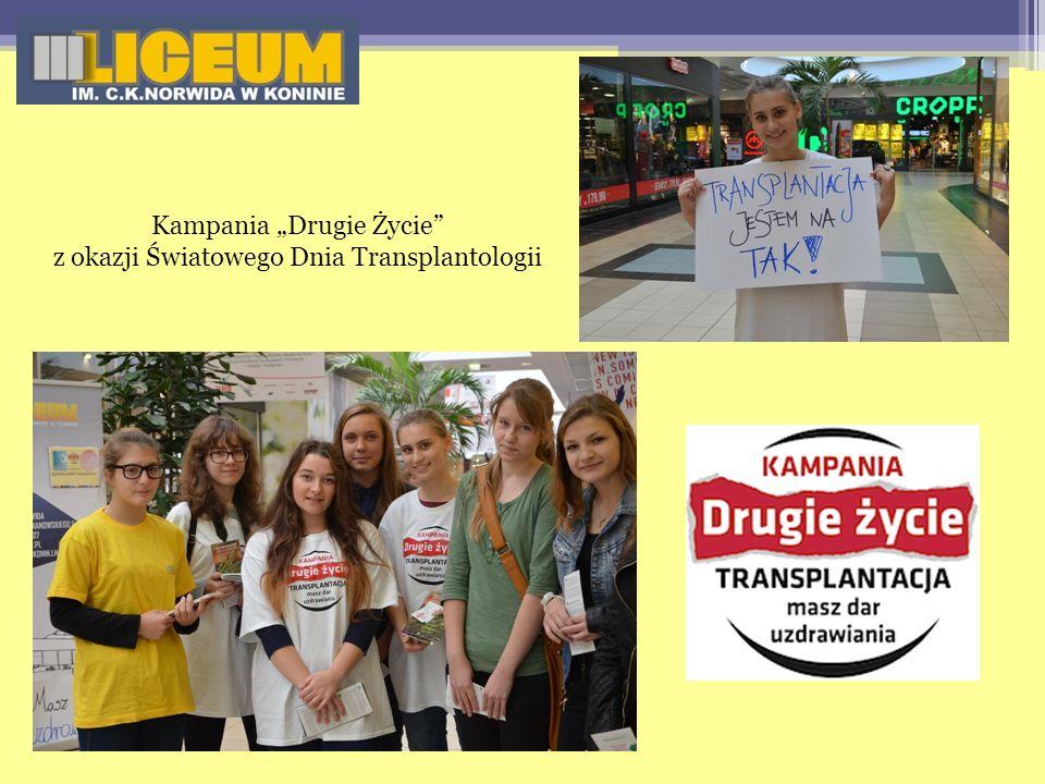 Kampania Drugie Życie z okazji Światowego Dnia Transplantologii