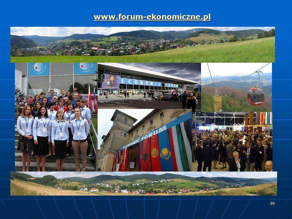 30 www.forum-ekonomiczne.pl