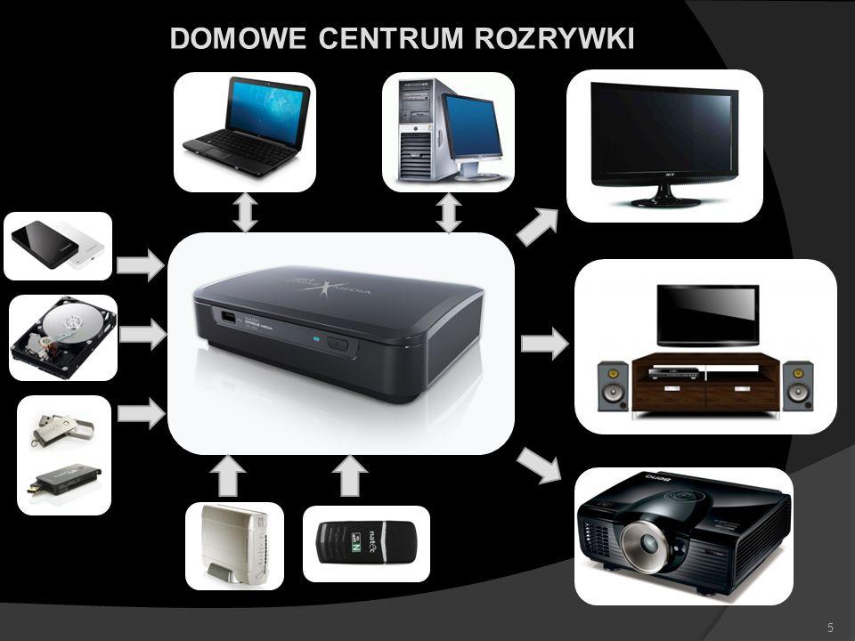 MNOGOŚĆ ODTWARZANYCH MULTIMEDIÓW FILMY – obsługa formatów: MKV, H.264, BLUERAY ISO, AVC HD, WMV, RMVB, RM, XVID, DIVX, VC-1, MPEG-1/2 HD AUDIO – obsługa ścieżek dźwiękowych w formatach Dolby Digital i DTS MUZYKA – obsługa formatów: MP3, WMA, OGG, FLAC, AAC, APE Monkey ZDJĘCIA – obsługa formatów: JPEG, BMP, GIF, PNG 6