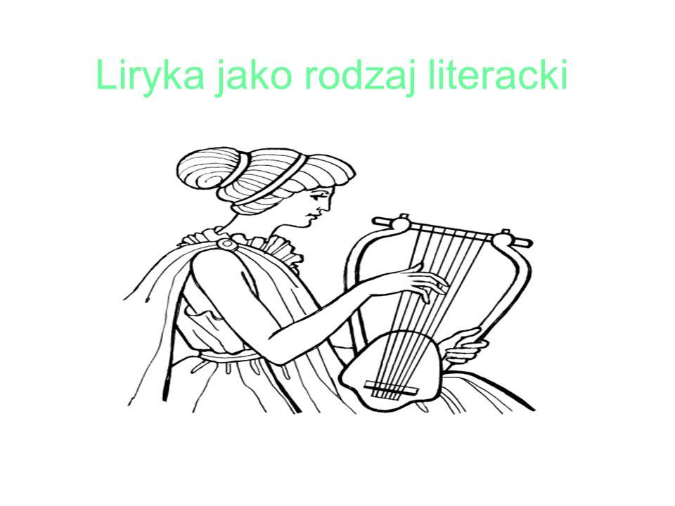 Liryka jako rodzaj literacki