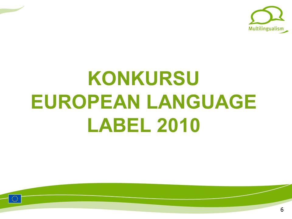 7 KOMITET SELEKCYJNY EUROPEAN LANGUAGE LABEL Prof.