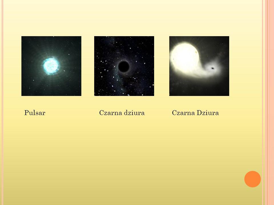 Czarna DziuraCzarna dziuraPulsar