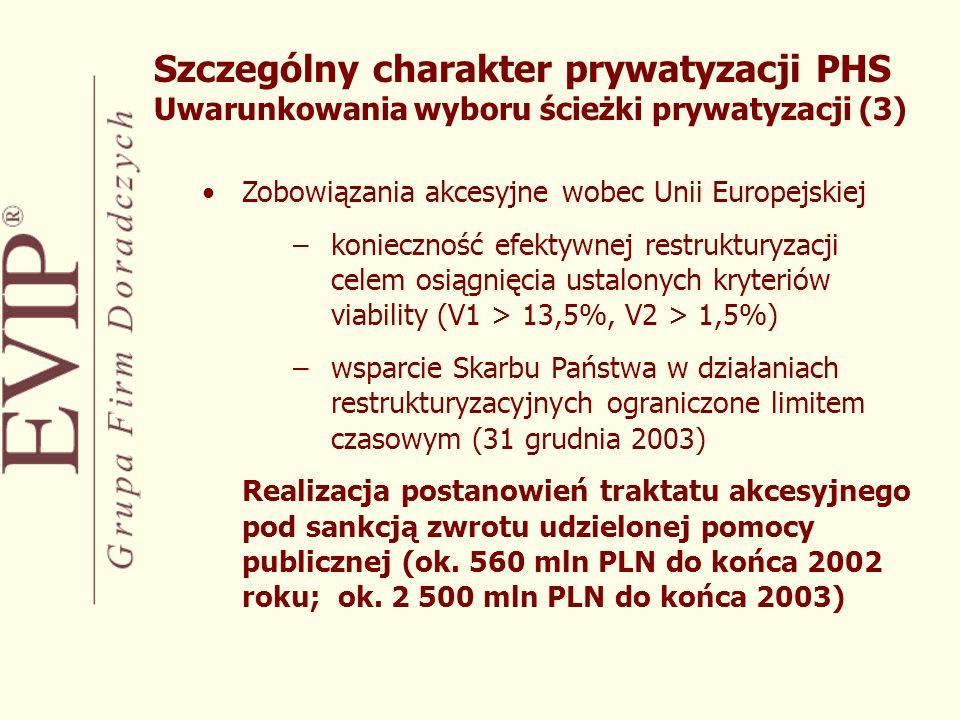 Maksymalizacja wpływów do Spółki oraz na jej restrukturyzację finansową –konwersja wierzytelności PHS S.A.
