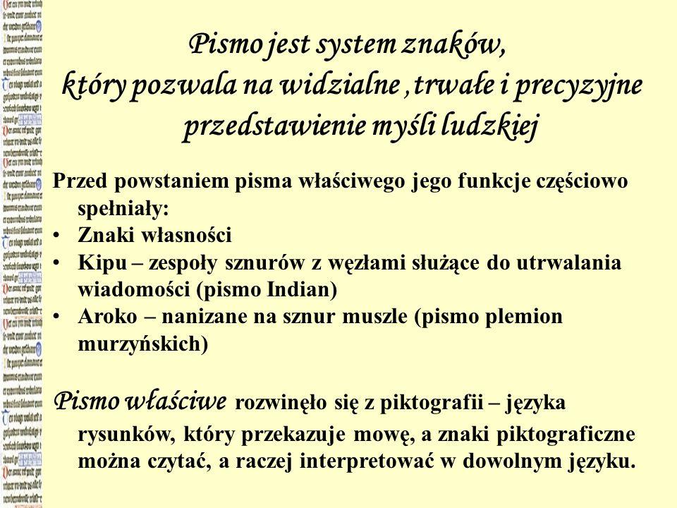 3.demotyczne (gr. demotica – ludowe), używane od VII wieku p.Chr.