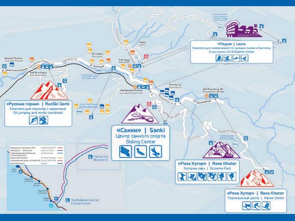 Krasnaja Polana to największy w Rosji kompleks narciarski, nazywany rosyjską Szwajcarią.