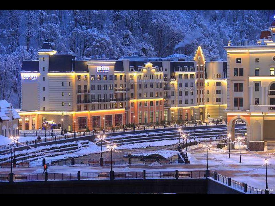 Przez kilka lat budowano tu nowoczesne hotele, restauracje, wyciągi, nartostrady i snow parki – wszystko to w ekspresowym tempie, aby zdążyć przed oli