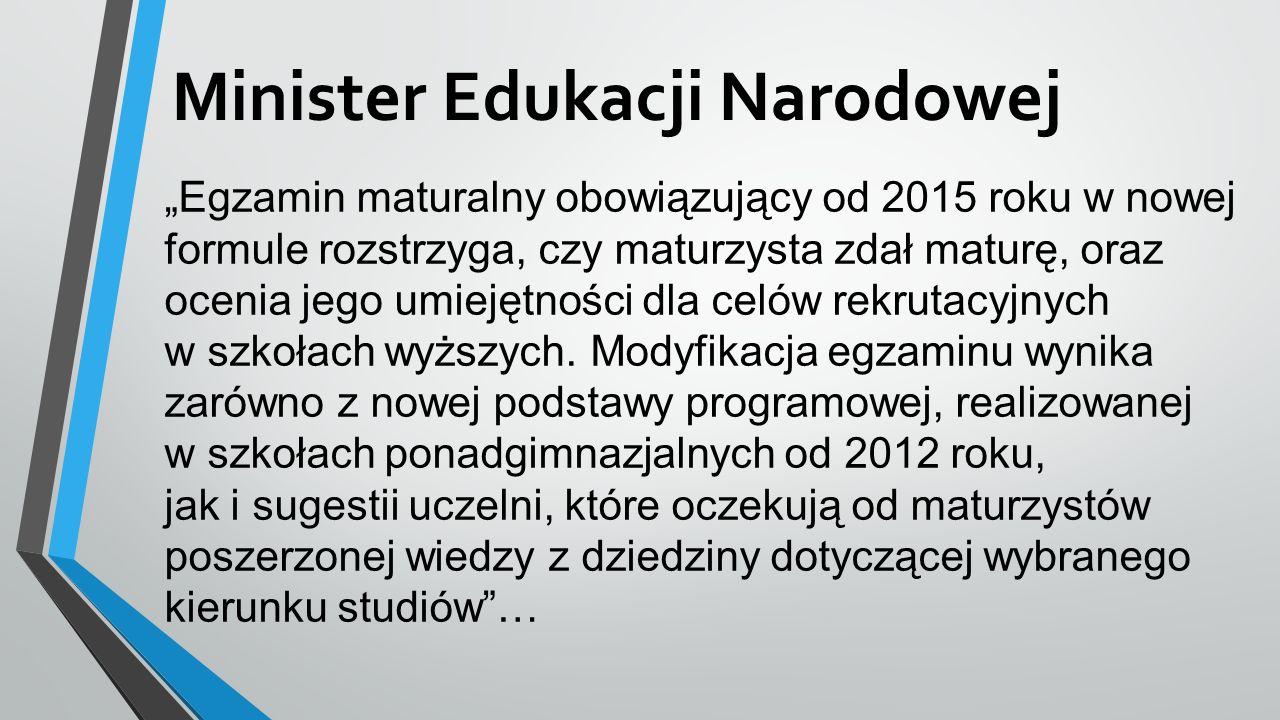 ROZPORZĄDZENIE MINISTRA EDUKACJI NARODOWEJ z dnia 25 kwietnia 2013r.