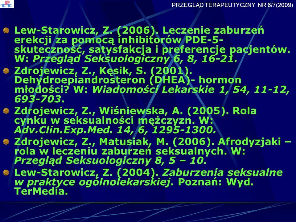 Lew-Starowicz, Z.(2006).
