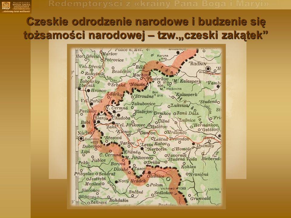 Czeskie odrodzenie narodowe i budzenie się tożsamości narodowej – tzw.czeski zakątek