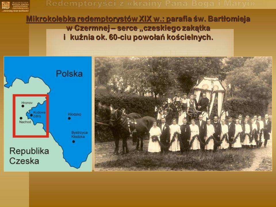 Mikrokolebka redemptorystów XIX w.: parafia św.