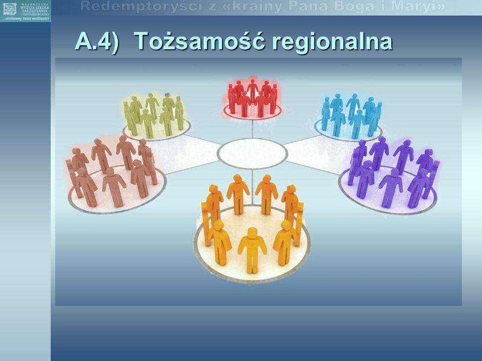 A.4) Tożsamość regionalna