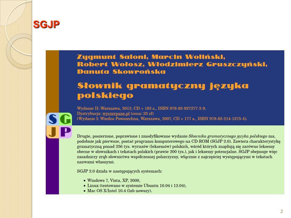 24 Grupy koniugacyjne Jana Tokarskiego (por.