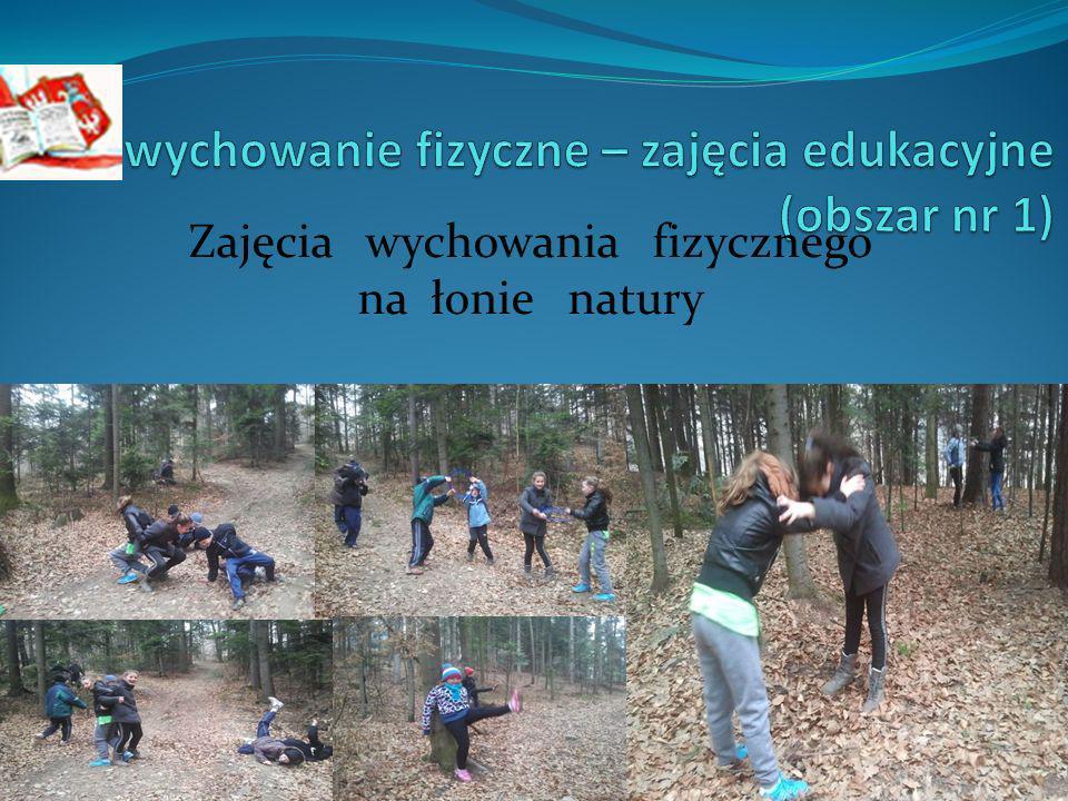Zajęcia wychowania fizycznego na łonie natury