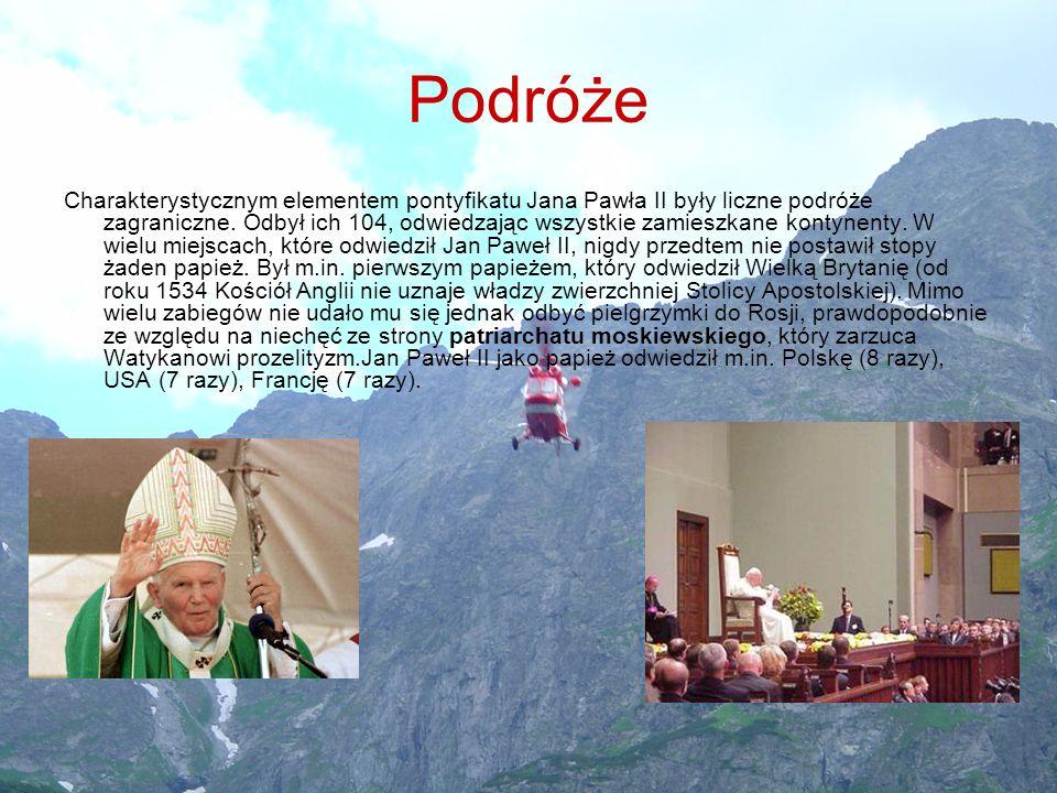 Choroba Jan Paweł II od początku lat 90.cierpiał na postępującą chorobę Parkinsona.