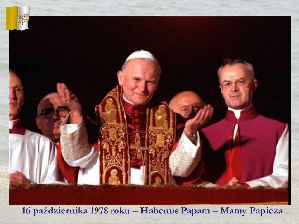 16 października 1978 roku – Habenus Papam – Mamy Papieża