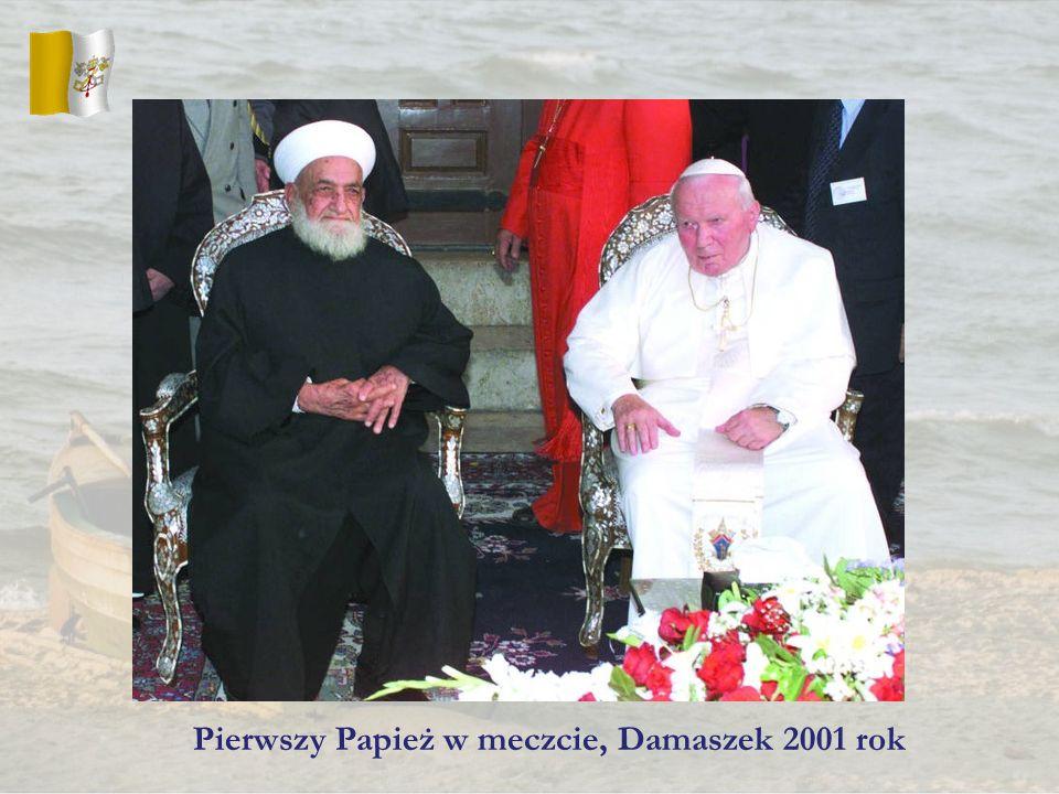 Pierwszy Papież w meczcie, Damaszek 2001 rok