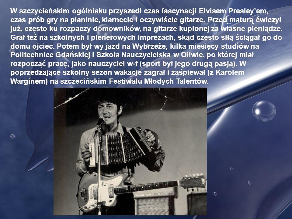Krzysztof Klenczon, ur. w 1942 r. w Pułtusku, wychowywał się w Szczytnie, przeżywając niełatwe chwile, jako dziecko i młody chłopak; jego ojciec, żołn