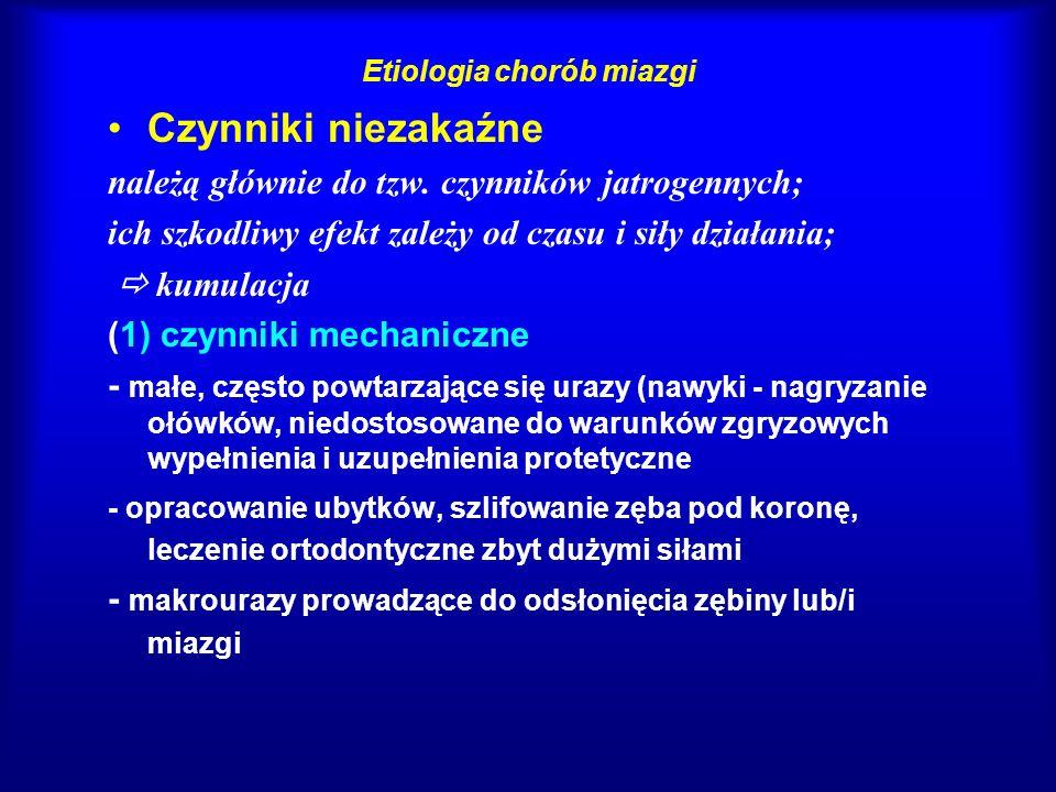 Symptomatologia chorób miazgi - charakterystyka bólu 1.