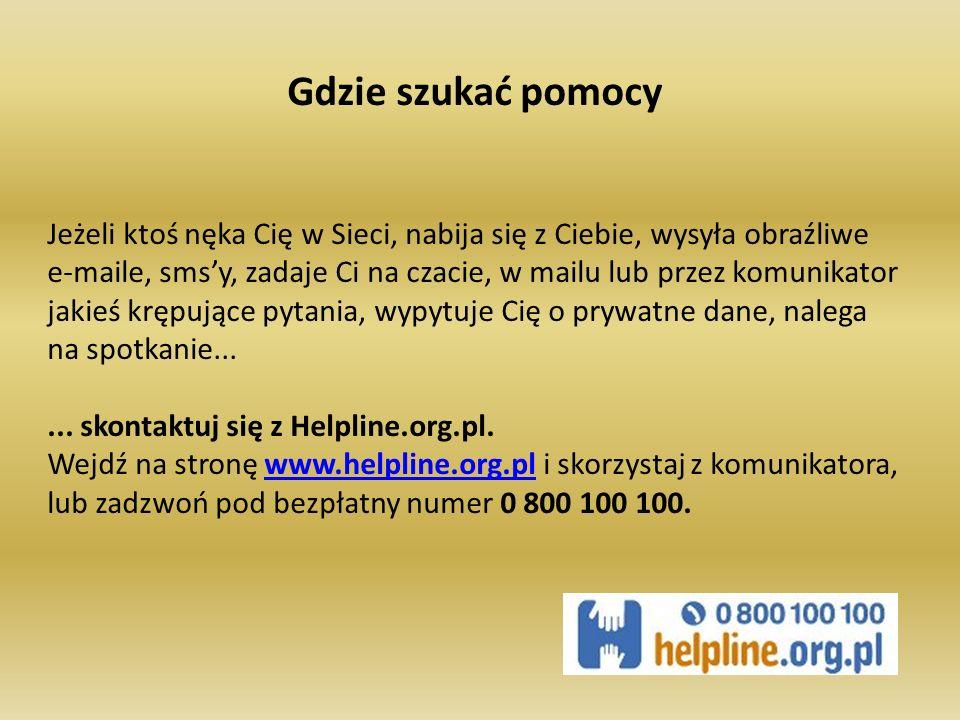 Każdy ruch w Internecie zostawia ślad Program Dziecko w Sieci został zainicjowany w lutym 2004 roku przez Fundację Dzieci Niczyje (FDN).