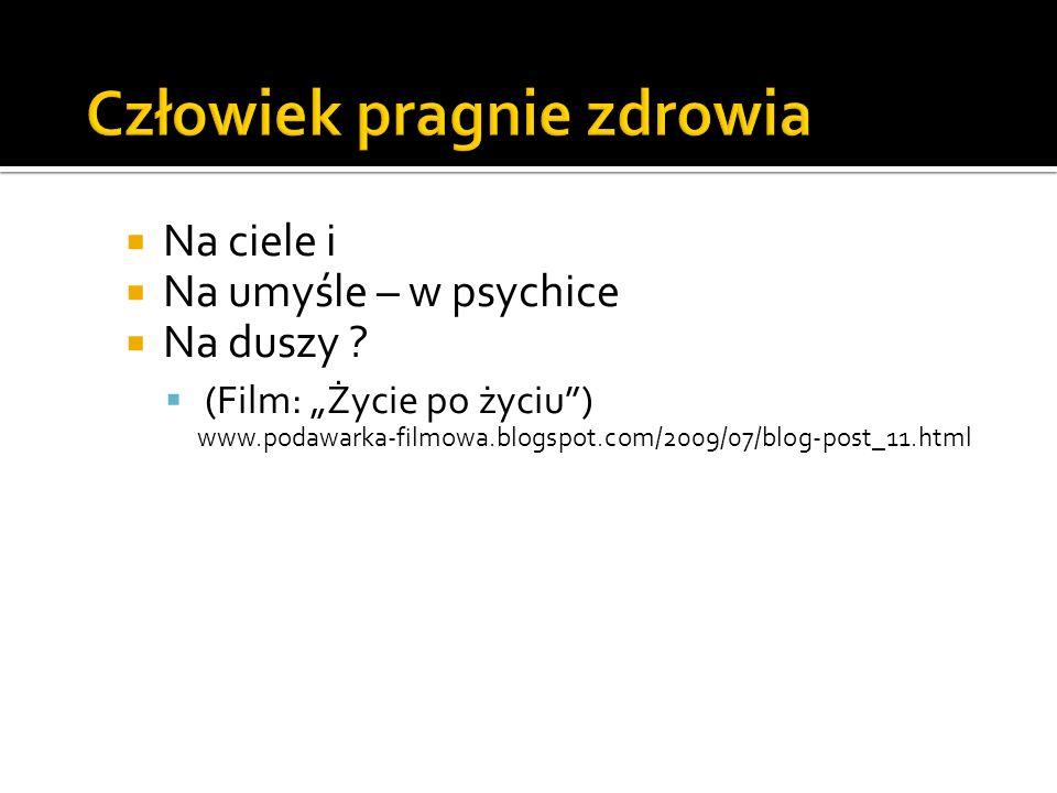 Na ciele i Na umyśle – w psychice Na duszy ? (Film: Życie po życiu) www.podawarka-filmowa.blogspot.com/2009/07/blog-post_11.html