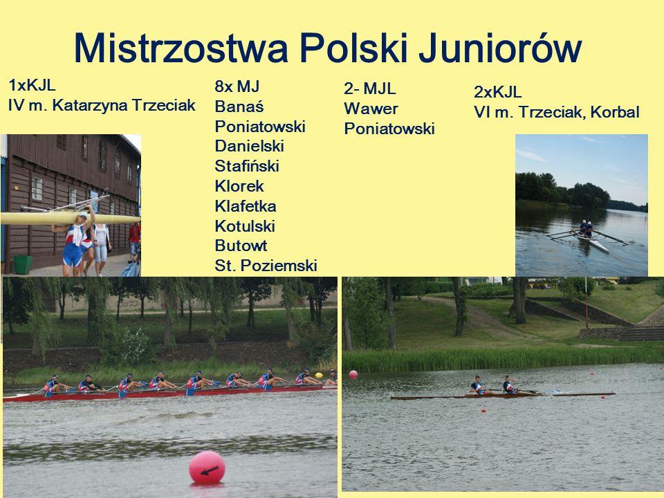 Mistrzostwa Polski Juniorów 1xKJL IV m.Katarzyna Trzeciak 2xKJL VI m.