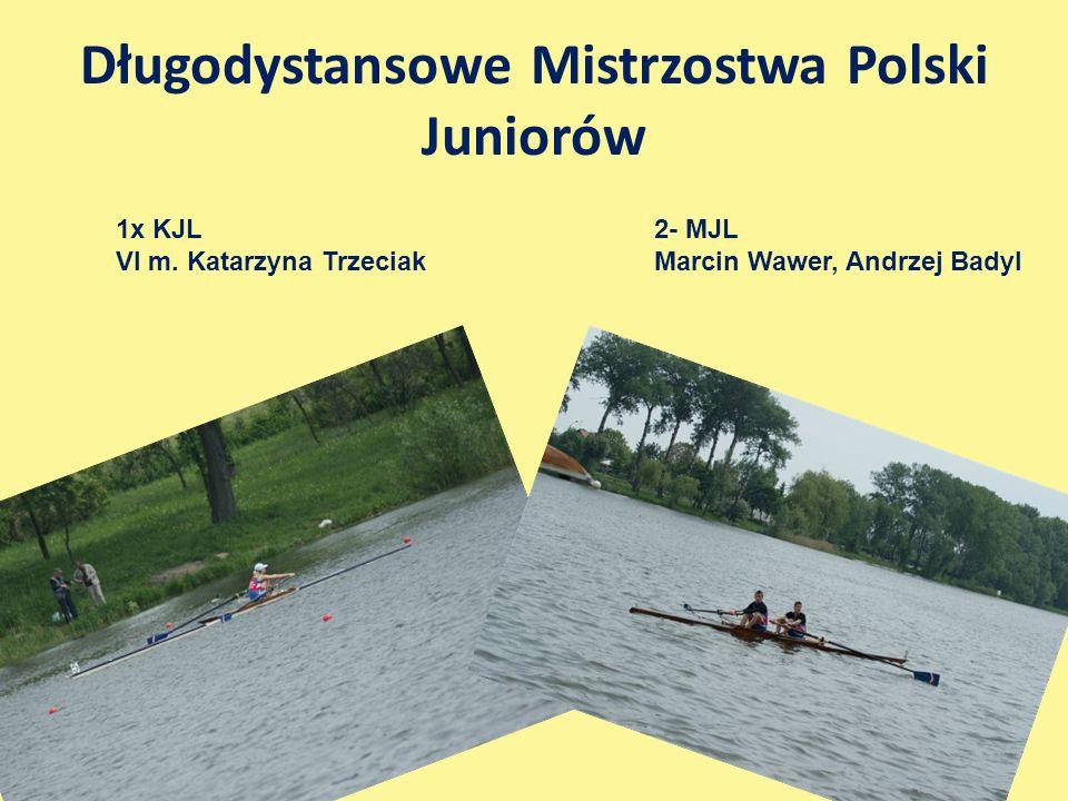 Długodystansowe Mistrzostwa Polski Juniorów 1x KJL VI m.