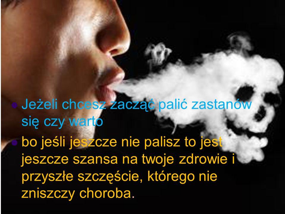 Odległe skutki palenia tytoniu *Choroby jamy ustnej *Choroby płuc *choroby nowotworowe miażdżyca choroba niedokrwienna serca zawał mięśnia sercowego o