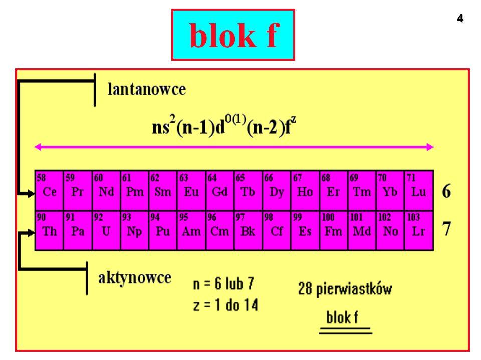 15 Stopnie ultenienia Kolory związków manganu na różnych stopniach utlenienia (od lewej do prawej): Mn 2+ Mn 3+ Mn 4+ Mn 6+ Mn 7+